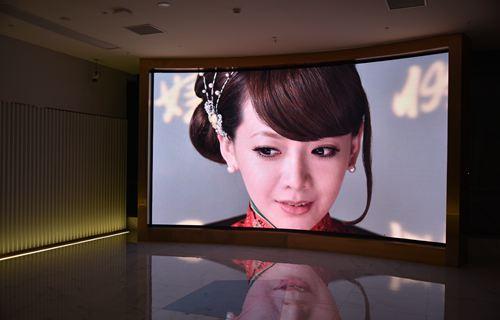 Ang display sa MHG Indoor nga gamay nga pitch LED sa Changsha Jiaxin Times Square
