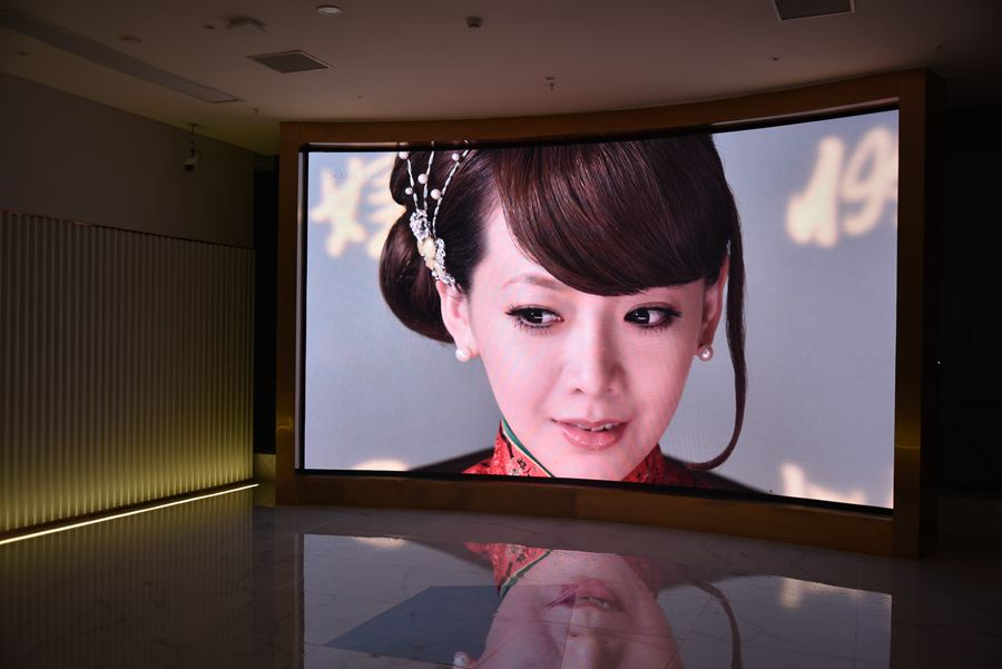 MHG Indoor small-pitch LED display in Changsha Jiaxin Times Square