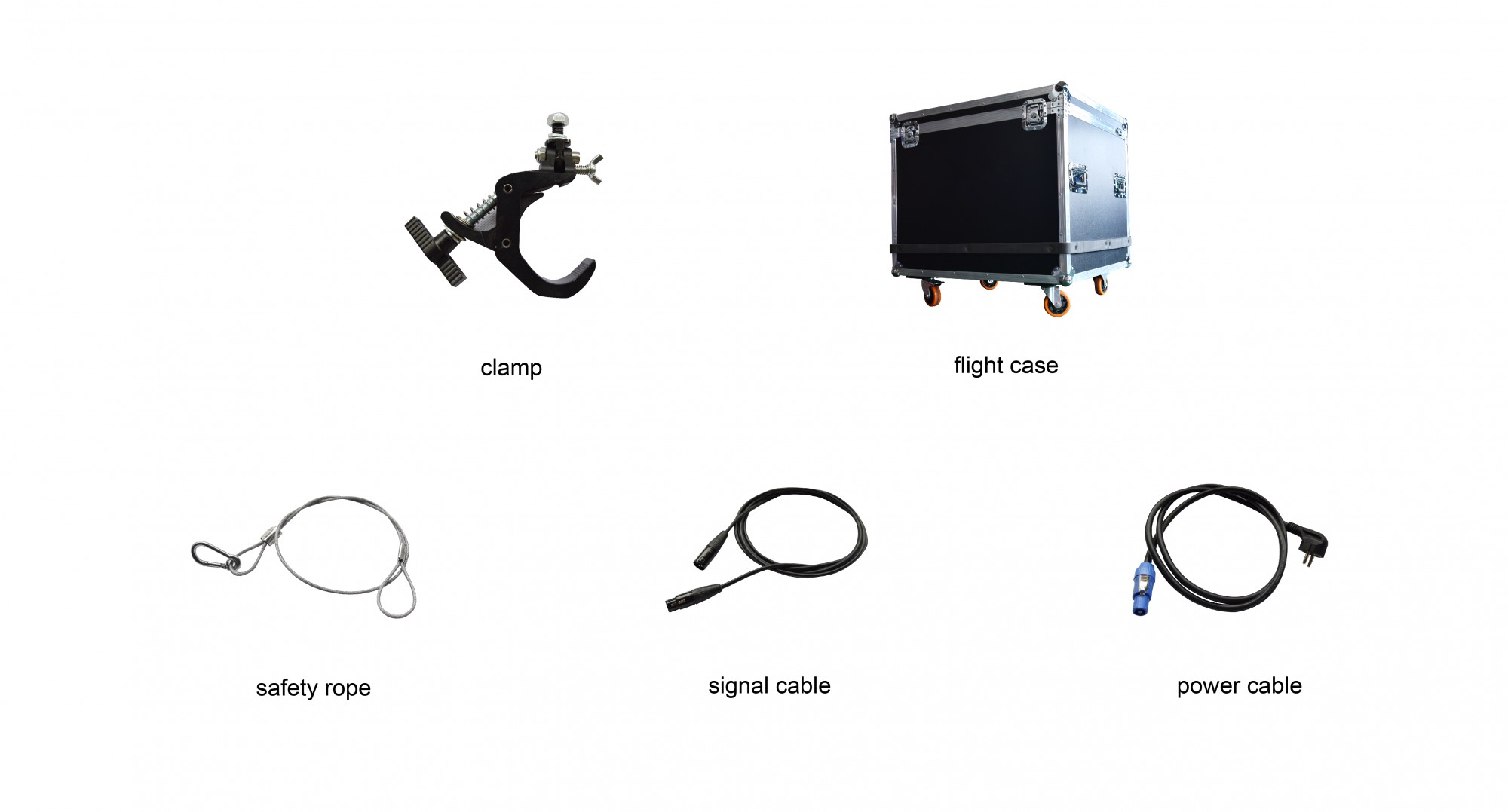 Parts of led moving head