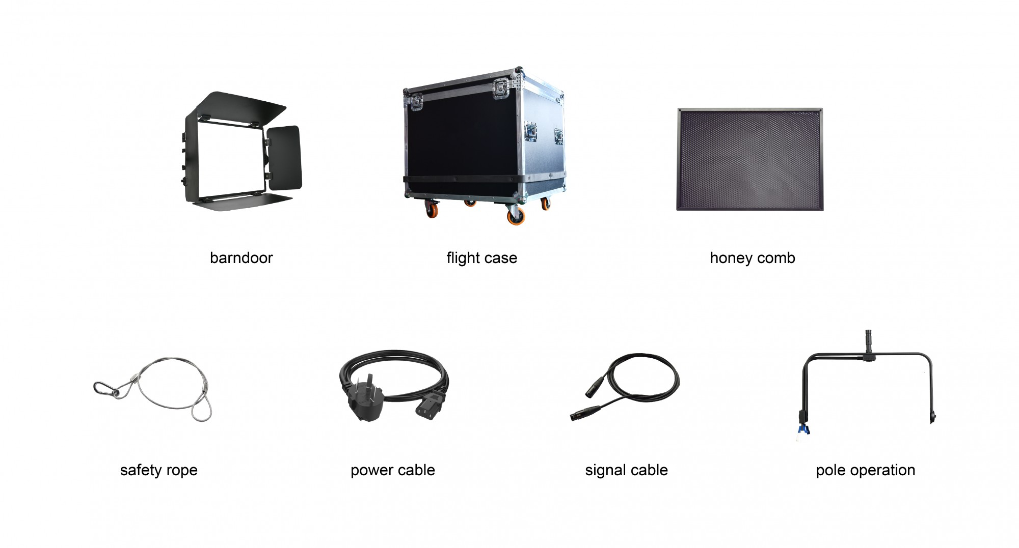 Parts of led panel light